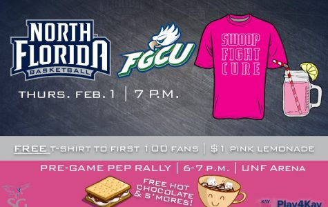 Freebies at the UNF Arena