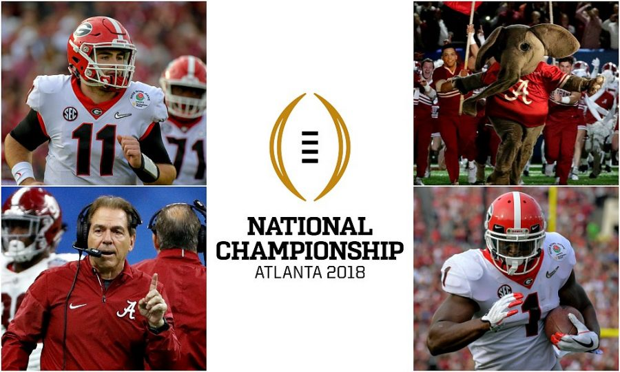 Georgia and Alabama will face off in this year's College Football Playoff  Photo courtesy of College Football News