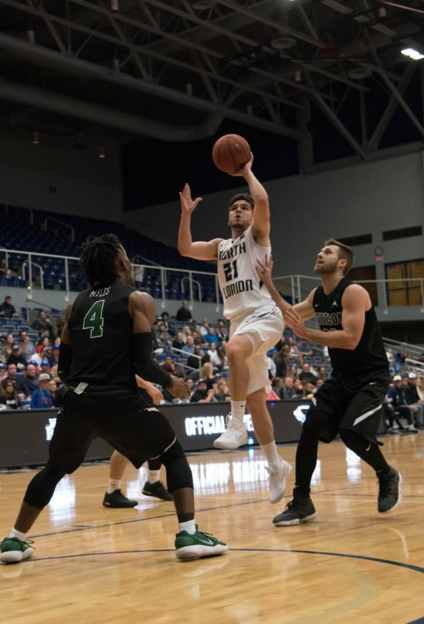 North Florida men's basketball topples Stetson