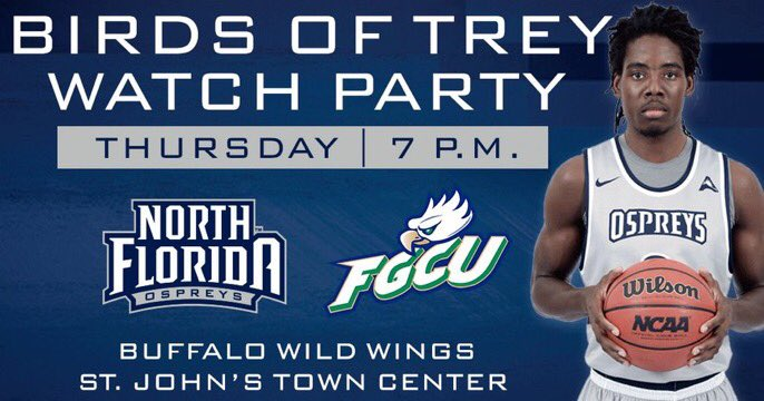 UNF Basketball Watch Party at Buffalo Wild Wings