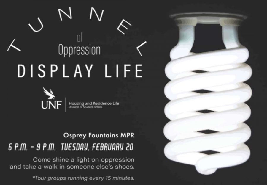 Tunnel of Oppression flyer