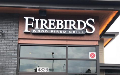 Firebirds Wood Fired Grill: Onion rings to die for