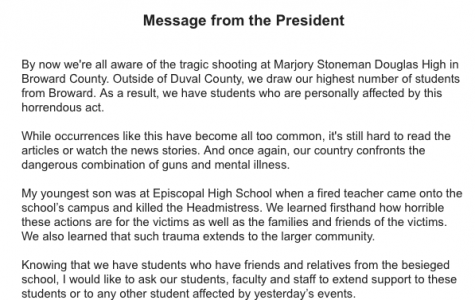 Delaney responds to Marjory Stoneman Douglas High shooting