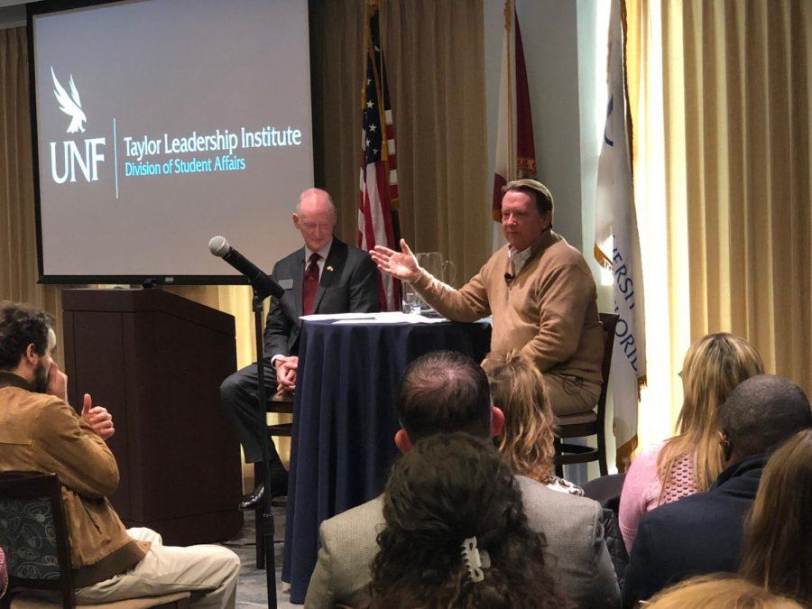 President John Delaney speaks about leadership
