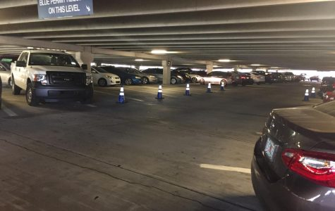 50 spots in Arena Parking Garage will be reserved on Wednesday