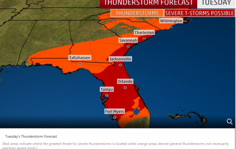 Northeast and Central Florida under tornado watch
