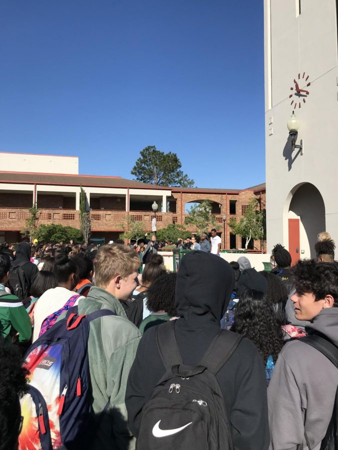Jacksonville-area students stage national walkout to protest gun violence