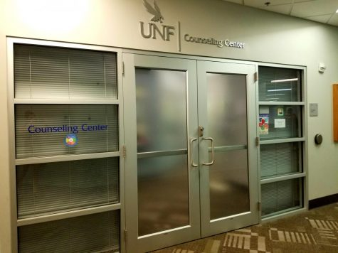 Two staircase entrances, exits locked in Student Union East Building
