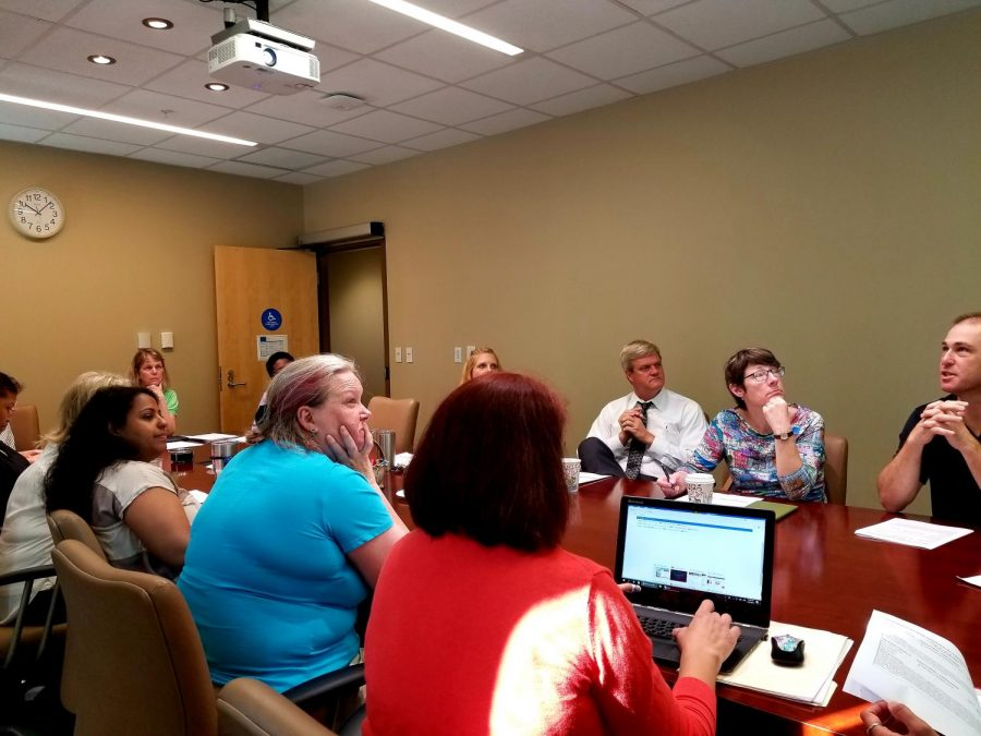 The UNF Faculty Association Academic Committee held its final meeting of the semester on Thursday, April 26.
