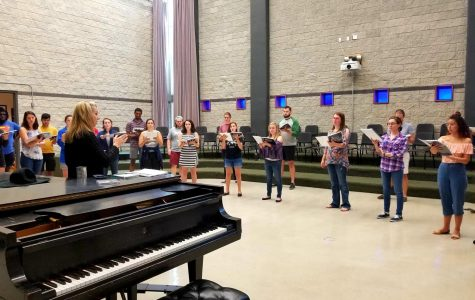 The UNF Chamber Singers bring harmony to the Baltics