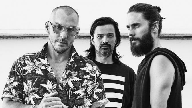 """Thirty Seconds to Mars fall victim to their ego on """"America"""""""