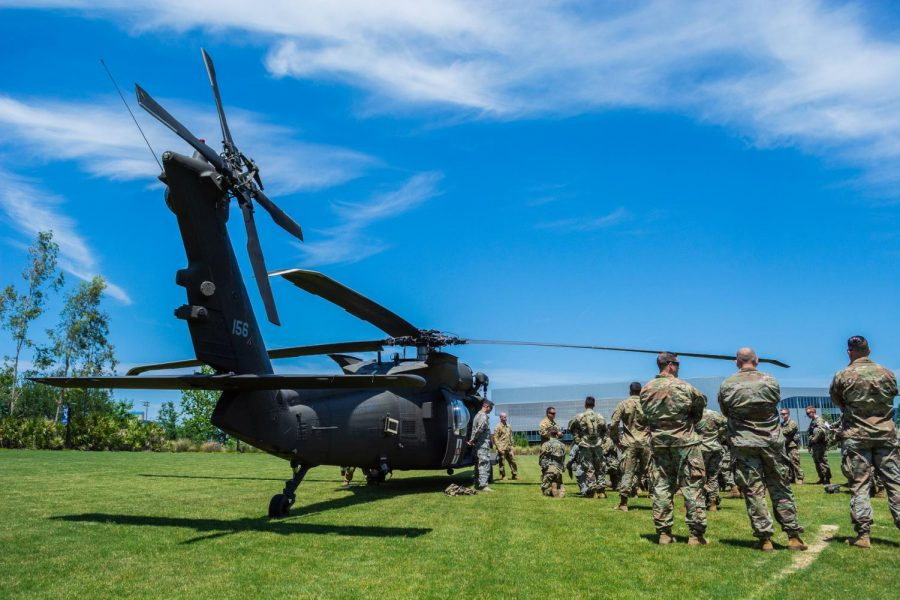 PHOTOS: Blackhawk Helicopter Medevac Drill at UNF