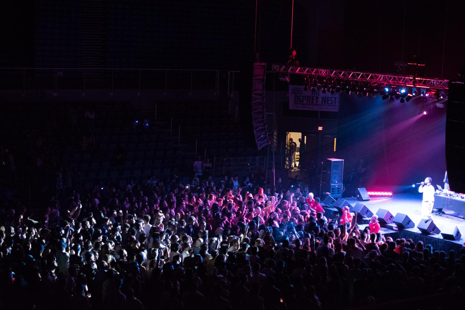 Juicy+J+sings+to+a+packed+arena%0APhoto+by+Lili+Weinstein