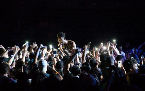 Desiigner sings in the crowd Photo by Khorri Newton
