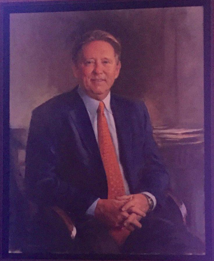 The UNF Presidential Portrait of John Delaney,