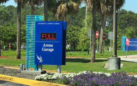 How the UNF Arena Parking Garage sign works