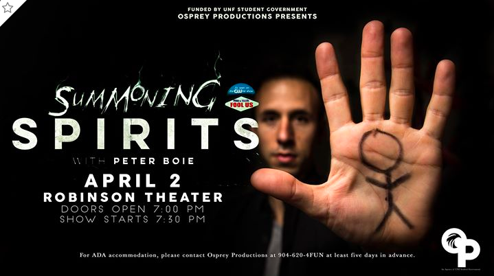 Summoning Spirits: The dead come back in the Robinson Theater
