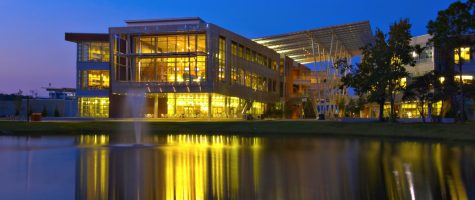 The Student Union. Courtesy of UNF.