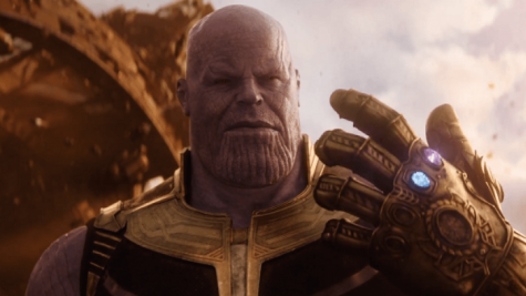 Josh Brolin plays Thanos, a Marvel-ous meany