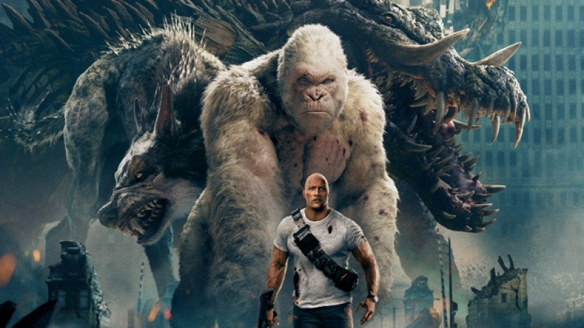 The four giant monsters in the movie. Warner Bros.
