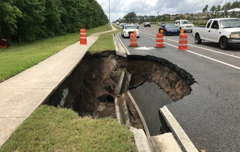 Local traffic update: Road collapse on Beach Blvd. near Hodges Blvd.