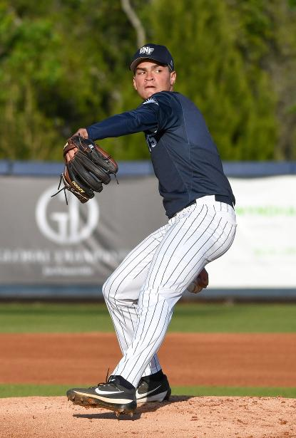 UNF student athlete Frank German has been named a semifinalist for the Golden Spikes Award.