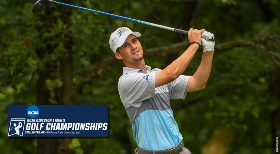 UNF Junior Phillip Knowles advanced to compete individually and finished ninth overall. Photo courtesy of UNF Athletics.