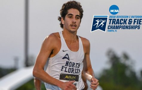 Men's Track season ends, Stahl finishes last race of collegiate career
