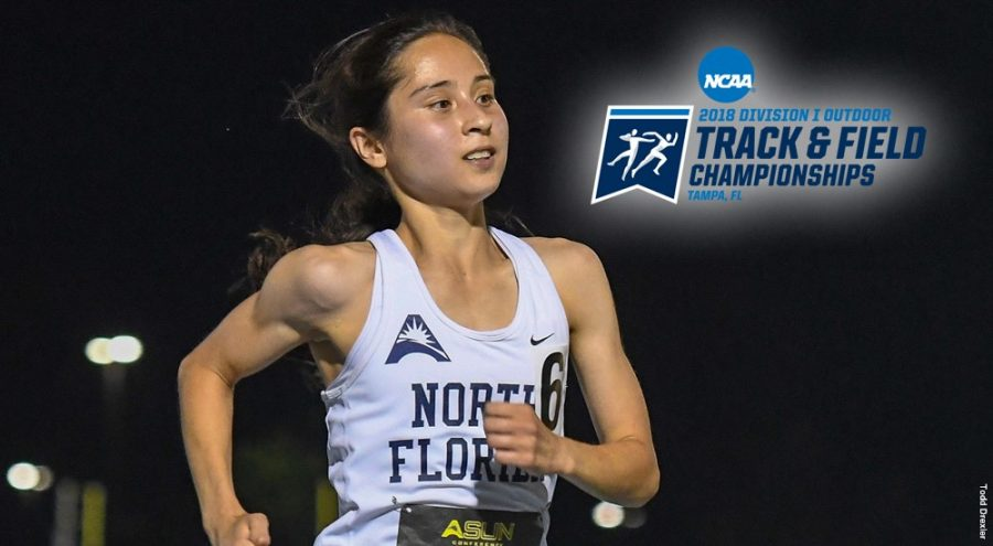 Senior Eden Meyer.Photo courtesy of UNF Athletics