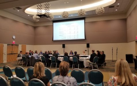 Board of Trustees meet to discuss a self-evaluation process