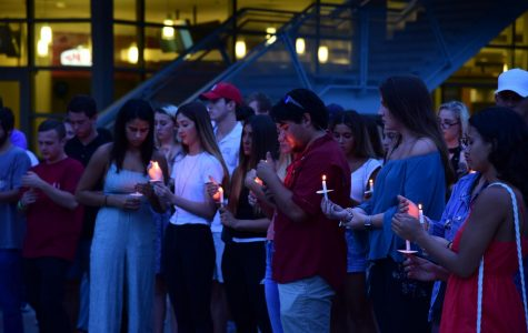 Students honor Hayden Raulerson with candlelight vigil