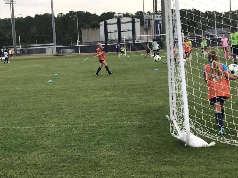 Derek Marinatos Soccer Academy. Photo by Drew McDonald.
