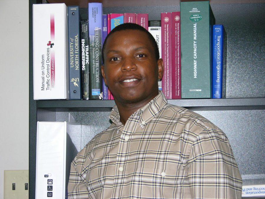 UNF Civil Engineering Professor Thobias Sando. Photo courtesy of the University of North Florida.