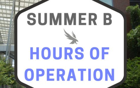 Summer B hours of operation