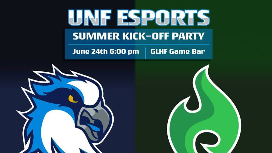 UNF E-sports summer kickoff party