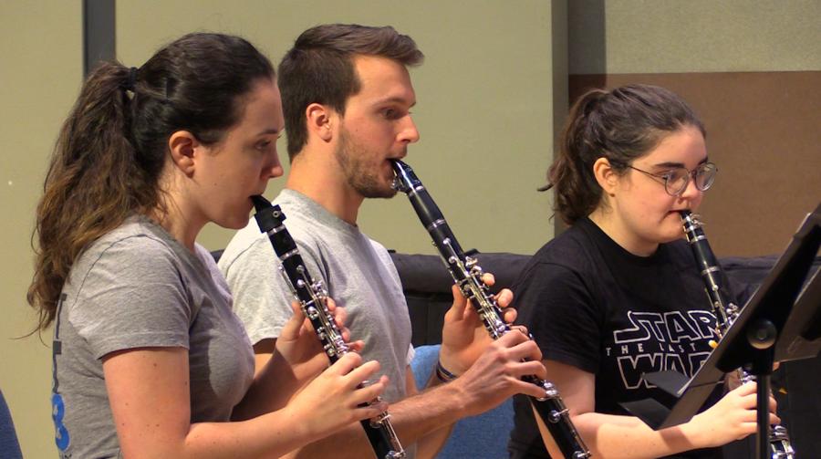 UNF clarinet choir to perform in Belgium