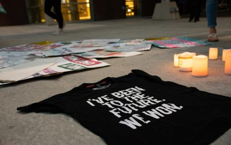 Vigil held in honor of black and transgender victims of gun violence