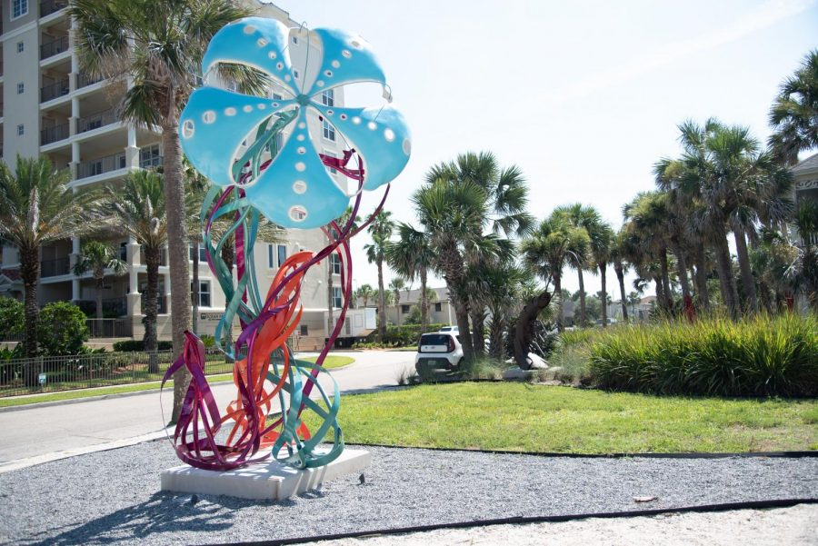 UNF Seaside Sculpture Park features new art