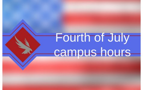 Fourth of July campus hours