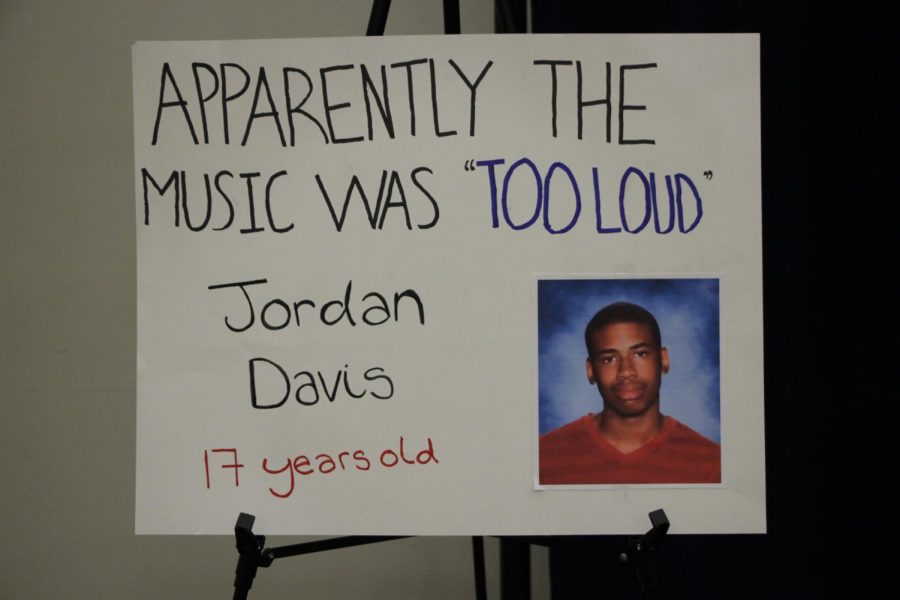 Jordan Davis was the son of one of the panelists of the Town Hall Ron Davis.