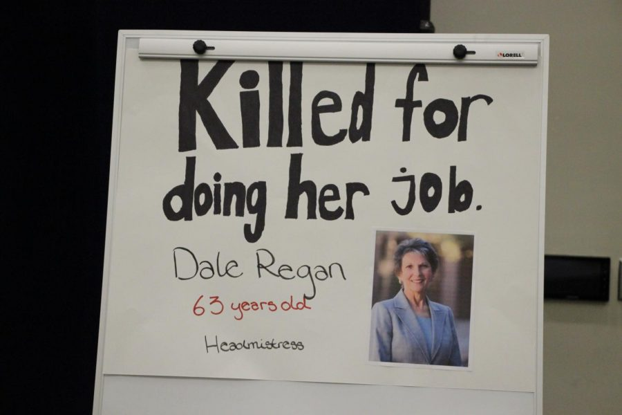 Headmistress Dale Regan, who was killed by a fired teacher at Episcopal High school in Jacksonville.