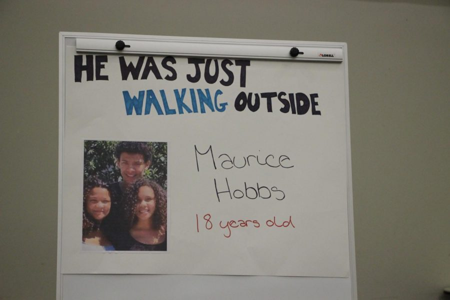 Gun violence victim Maurice Hobbs was only 18-years old when he died while just walking outside.