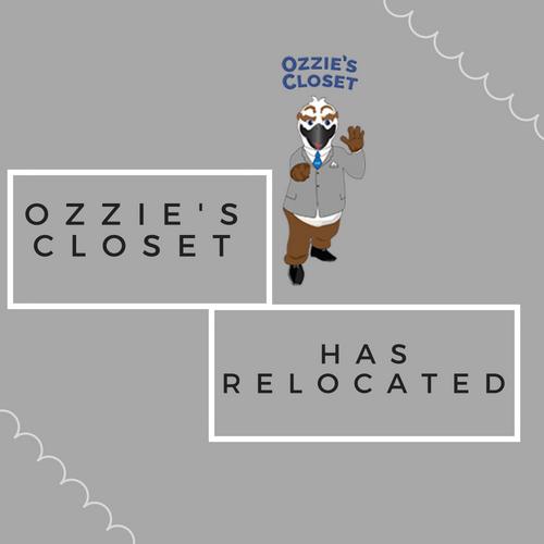 Ozzie's Closet has relocated