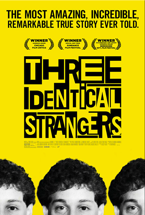Stunning doc 'Three Identical Strangers' proves some things are too wild to make up