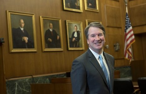 Recently appointed Supreme Court Judge Brett Kavanaugh. Photo courtesy of the U.S. Court of Appeals.