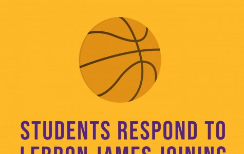 Man on the Street: Students respond to LeBron James joining the Lakers