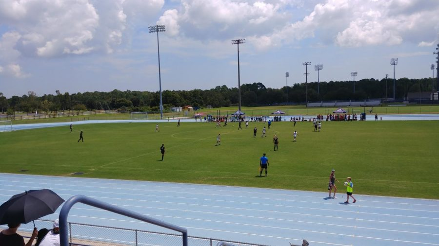The Ospreys faced off against the No. 16 UCF Knights in an exhibition Photo by: Hunter Horstman