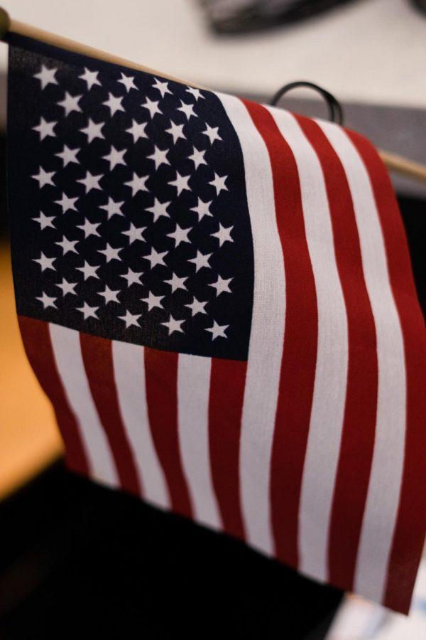 Photo of the American flag.