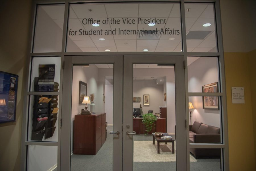 A look into the office of the VP for Student and International Affairs