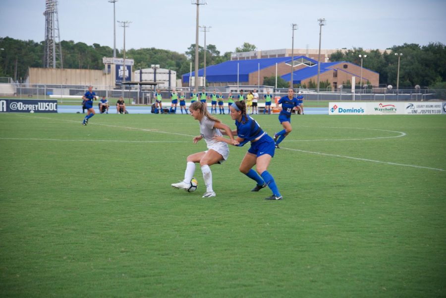 The Ospreys and Blue Raiders battled it out on Friday's match.